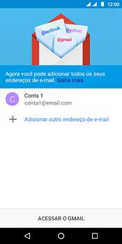 Como configurar seu celular para receber e enviar e-mails - Motorola Moto E5 - Passo 21