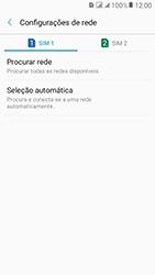 Como selecionar o tipo de rede adequada - Samsung Galaxy J2 Prime - Passo 7