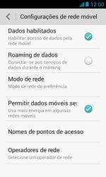 Como configurar a internet do seu aparelho (APN) - Huawei Y340 - Passo 5