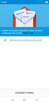 Como configurar seu celular para receber e enviar e-mails - Motorola One - Passo 5