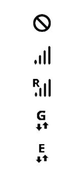 Explicação dos ícones - Samsung Galaxy A10 - Passo 1