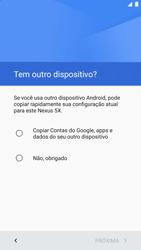 Como ativar seu aparelho - LG Google Nexus 5X - Passo 7