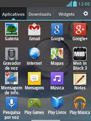 Como configurar a internet do seu aparelho (APN) - LG Optimus L3 II - Passo 19