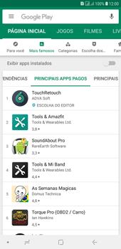 Como baixar aplicativos - Samsung Galaxy J4+ - Passo 9