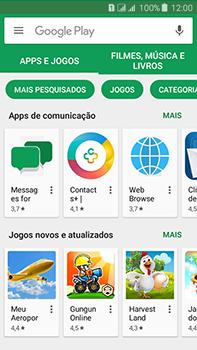 Como baixar aplicativos - Samsung Galaxy J7 - Passo 6