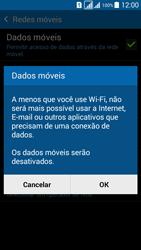 Como ativar e desativar uma rede de dados - Samsung Galaxy Grand Prime - Passo 6