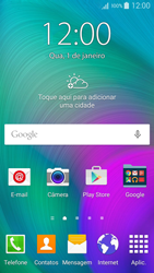 Como configurar seu celular para receber e enviar e-mails - Samsung Galaxy A5 - Passo 1