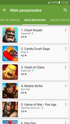 Como baixar aplicativos - Samsung Galaxy S7 Edge - Passo 9
