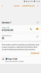 Como bloquear chamadas de um número específico - Samsung Galaxy J2 Prime - Passo 9