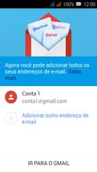 Como configurar seu celular para receber e enviar e-mails - Huawei Y3 - Passo 13