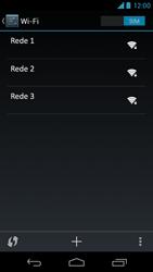 Como configurar uma rede Wi-Fi - Motorola Moto X (1ª Geração) - Passo 5