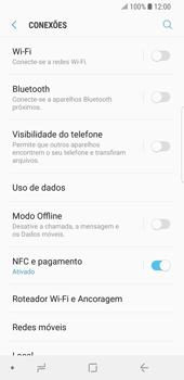 Como configurar uma rede Wi-Fi - Samsung Galaxy S9 - Passo 4