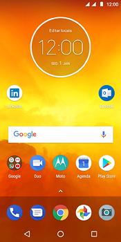 Como configurar seu celular para receber e enviar e-mails - Motorola Moto E5 - Passo 1