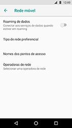 Como configurar a internet do seu aparelho (APN) - Motorola Moto X4 - Passo 7