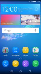 Como configurar seu celular para receber e enviar e-mails - Huawei Y6 - Passo 1