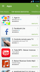Como baixar aplicativos - Motorola RAZR MAXX - Passo 11