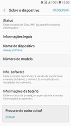 Como encontrar o número de IMEI do seu aparelho - Samsung Galaxy J2 Prime - Passo 4