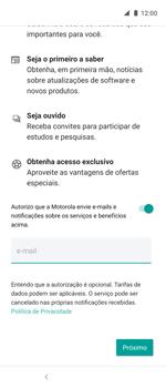 Como ativar seu aparelho - Motorola One Action - Passo 13