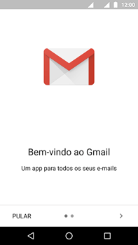 Como configurar seu celular para receber e enviar e-mails - Motorola Moto Z2 Play - Passo 4
