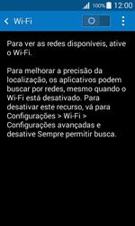 Como configurar uma rede Wi-Fi - Samsung Galaxy Ace 4 - Passo 4