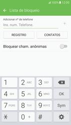 Como bloquear chamadas de um número específico - Samsung Galaxy S7 - Passo 8