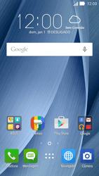 Como configurar seu celular para receber e enviar e-mails - Asus ZenFone 2 - Passo 1
