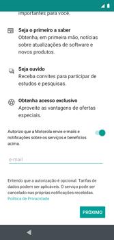 Como configurar pela primeira vez - Motorola Moto G7 Play - Passo 13