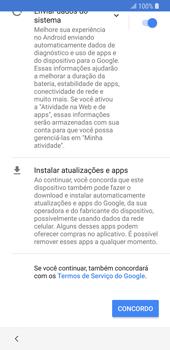 Como configurar pela primeira vez - Samsung Galaxy S9 - Passo 16