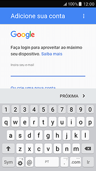 Como configurar seu celular para receber e enviar e-mails - Samsung Galaxy J7 - Passo 11