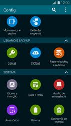 Como restaurar as configurações originais do seu aparelho - Samsung Galaxy S5 - Passo 4