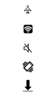 Explicação dos ícones - Asus Zenfone Selfie - Passo 13