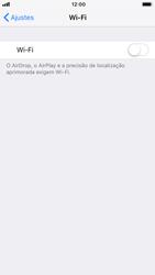 Como configurar uma rede Wi-Fi - Apple iPhone 7 - Passo 3