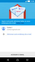 Como configurar seu celular para receber e enviar e-mails - Sony Xperia M4 Aqua - Passo 15