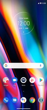 Como configurar uma rede Wi-Fi - Motorola Moto G 5G Plus - Passo 1