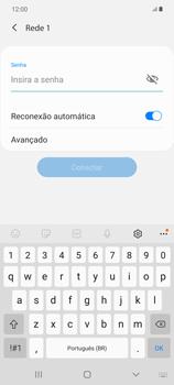 Como configurar uma rede Wi-Fi - Samsung Galaxy Note 20 5G - Passo 7