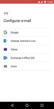 Como configurar seu celular para receber e enviar e-mails - Motorola Moto G6 Plus - Passo 7