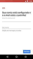 Como configurar seu celular para receber e enviar e-mails - Motorola Moto X4 - Passo 20