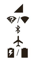 Explicação dos ícones - Motorola Moto E (2ª Geração) - Passo 1