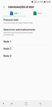 Como selecionar o tipo de rede adequada - Samsung Galaxy J6 - Passo 10