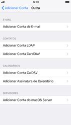 Como configurar seu celular para receber e enviar e-mails - Apple iPhone 8 - Passo 6