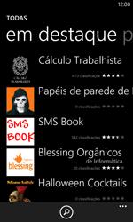 Como baixar aplicativos - Nokia Lumia 1020 - Passo 11