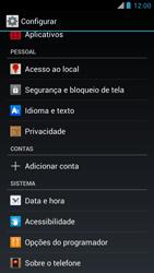 Como restaurar as configurações originais do seu aparelho - Motorola RAZR MAXX - Passo 4