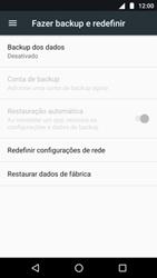 Como restaurar as configurações originais do seu aparelho - Motorola Moto G5 Plus - Passo 5