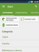 Como baixar aplicativos - Motorola Master - Passo 6