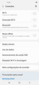 O celular não recebe chamadas - Samsung Galaxy A11 - Passo 5