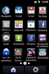 Como configurar seu celular para receber e enviar e-mails - Huawei U8667 - Passo 3