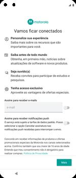 Como ativar seu aparelho - Motorola Moto G 5G Plus - Passo 11