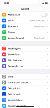 Como usar seu aparelho como um roteador de rede Wi-Fi - Apple iPhone 11 Pro - Passo 2