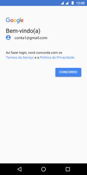 Como configurar seu celular para receber e enviar e-mails - Motorola Moto G6 Play - Passo 11