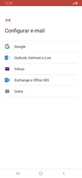 Como configurar seu celular para receber e enviar e-mails - Samsung Galaxy A20 - Passo 8